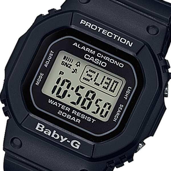 腕時計 レディース カシオ CASIO ベビーG BABY-G デジタル クオーツ BGD-560-1JF ブラック 国内正規 ブラック
