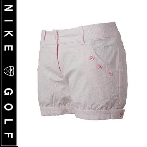 【Nike Golf 】 ナイキゴルフ レディース シアサッカー ショーティーショート ゴルフウェア ショートパンツ 短パン