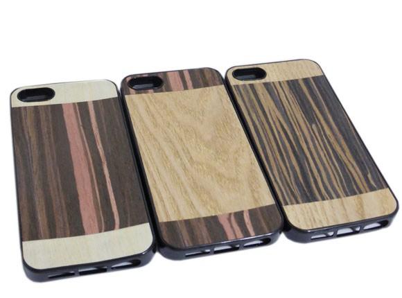 iPhone SE iPhone 5S iPhone 5 ソフトタイプ 木目...