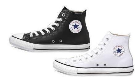(A倉庫)CONVERSE LEA ALL STAR HI コンバース レザー オールスター ハイカット メンズ レディース スニーカー LEATHER ALL STAR HI