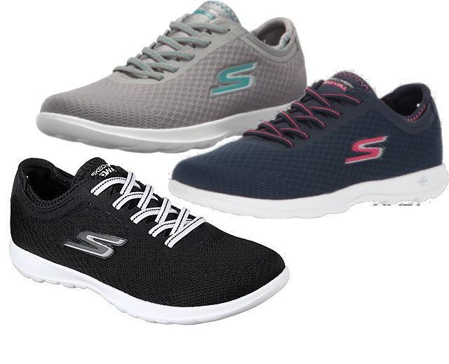 (A倉庫)SKECHERS スケッチャーズ 15350 GO Walk Lite Impulse ゴーウォーク レディーススニーカー ウォーキング シューズ 靴 SKC 15350