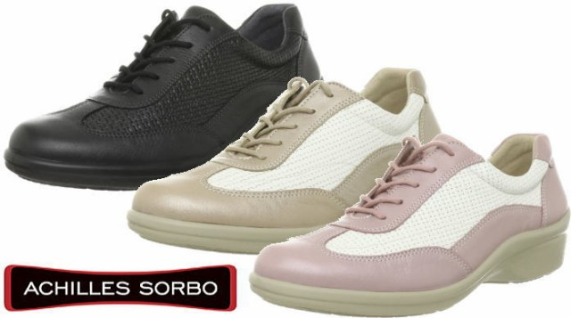 (A倉庫)アキレス ソルボ SORBO SRL 1240 レディース 天然皮革 コンフォート ウォーキング 高機能スーパークッション 送料無料