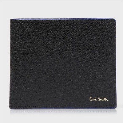 ポールスミス 折財布 カラーブロックゴート 二つ...