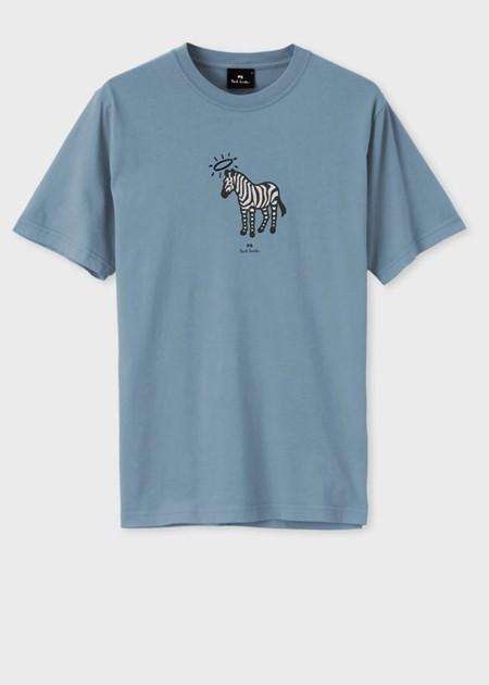 ポールスミス Tシャツ Angel ring Zebra プリン...
