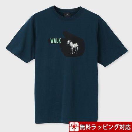 ポールスミス Tシャツ メンズ Zebra WALK プリン...