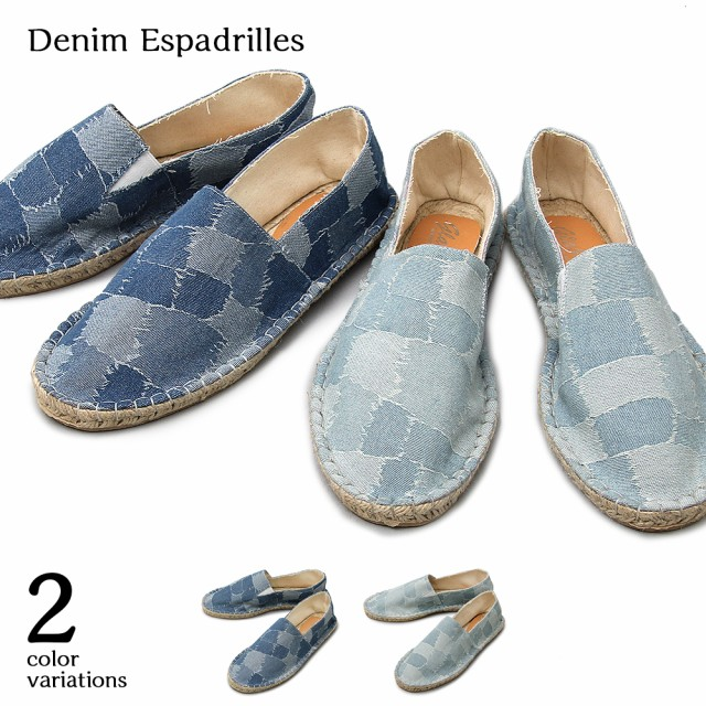 【glabella】 Denim Espadrilles  2color/沖縄・...