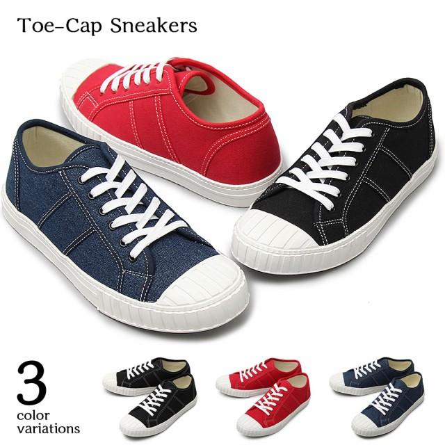 【glabella】Toe-Cap Sneakers  3color /沖縄・離...