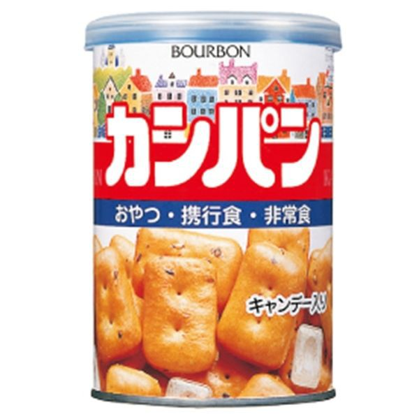ブルボン 缶入カンパン キャップ付 100g×24缶 ...