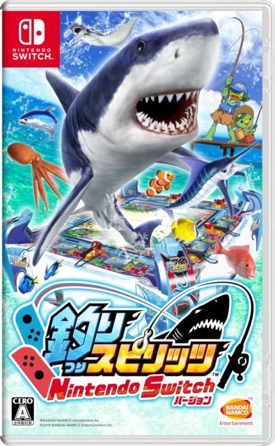 【新品】釣りスピリッツ Nintendo Switchバージョ...
