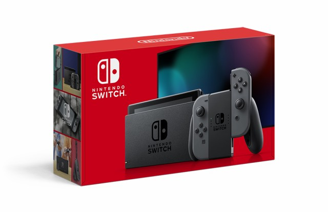 【中古】Nintendo Switch Joy-Con(L)/(R)グレー N...