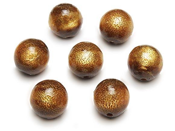 【粒販売】ゴールドコーラル(金珊瑚)丸玉 10mm...
