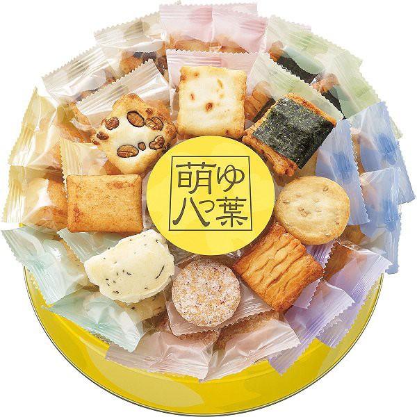 中央軒煎餅 萌ゆ八つ葉(35個)   10G