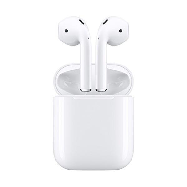 Apple AirPods ワイヤレスイヤホン マイク付き Bl...