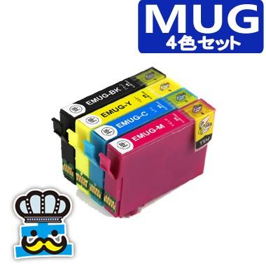 プリンターインク エプソン MUG 4色セット MUG-4...