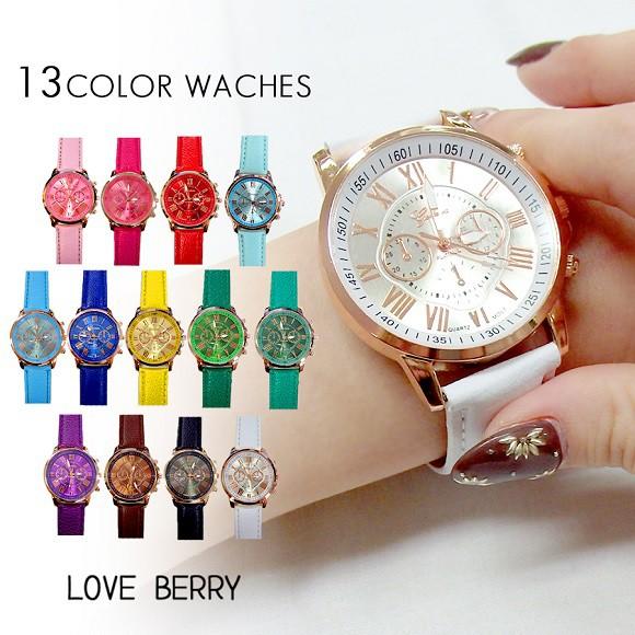 腕時計 女性 プレゼント 友人 ウォッチ 太ベルト ...