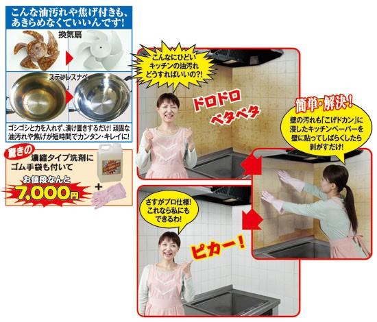 焦げ油専用洗剤こげドカン(55353-000)