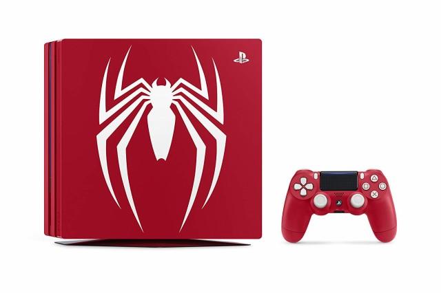 【新品】【即納】PlayStation 4 Pro Marvels Spid...
