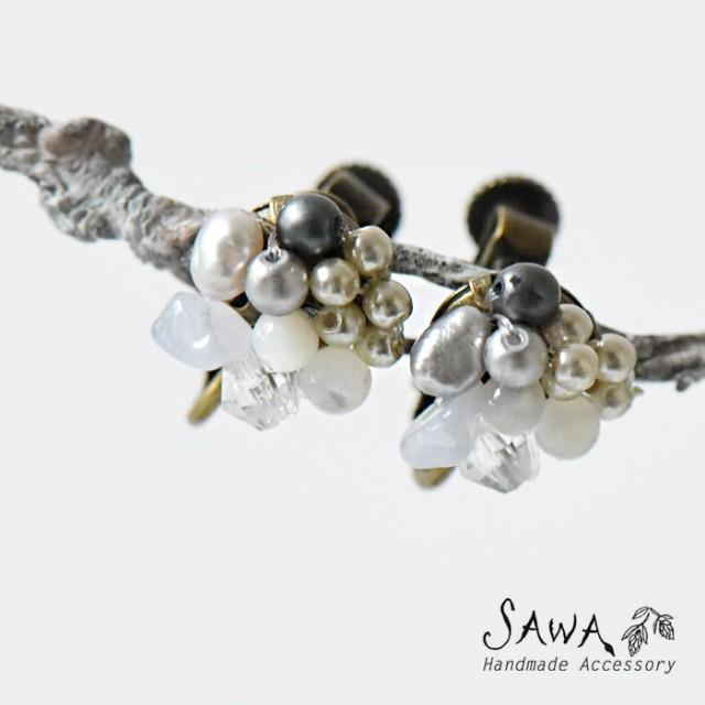 10%OFFクーポン 【SAWA サワ】淡水パール × 天然...