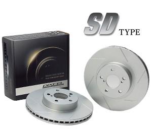 DIXCEL ブレーキディスクローター SD Type フロン...