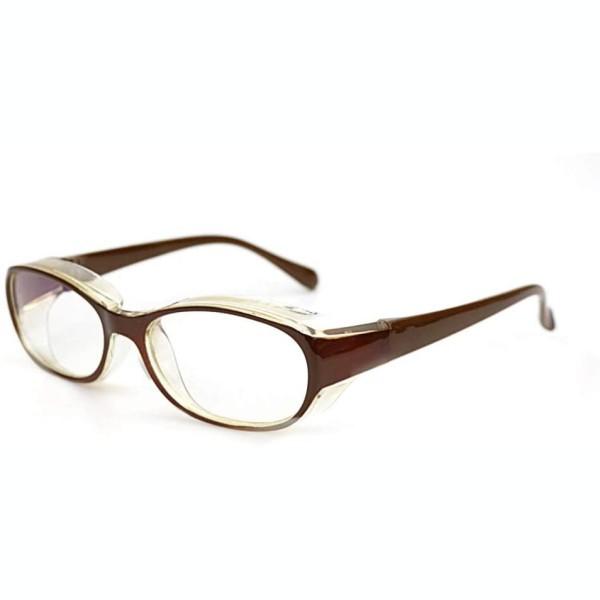 花粉メガネ 《ブラウン》 多機能眼鏡 アイサポー...