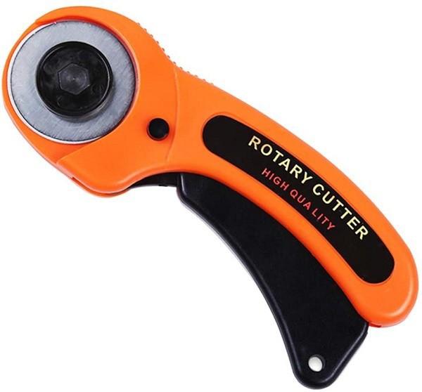 ロータリーカッター 《オレンジ》 直径45mm セー...