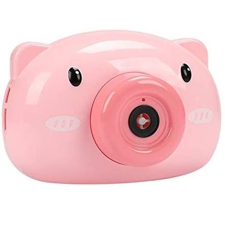 バブルカメラ ブタ 《ピンク》 シャボン玉マシー...