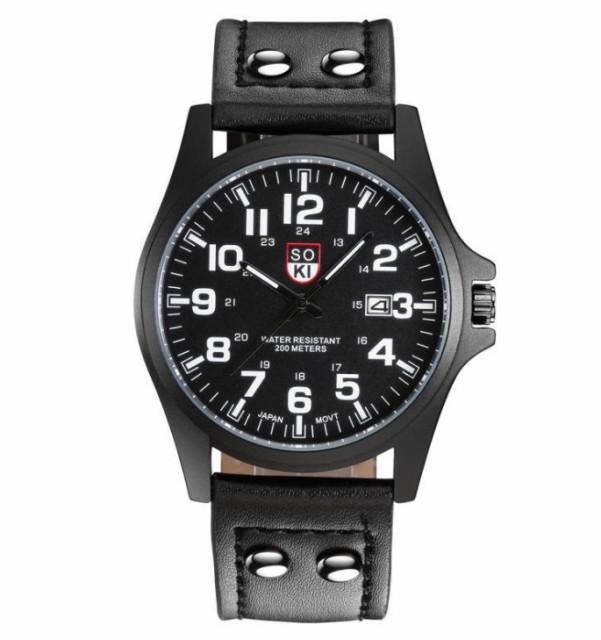腕時計 時計 メンズ アナログクォーツウォッチ #0...