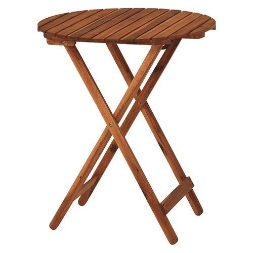 ガーデンテーブル サイドテーブル 木製 アカシア...