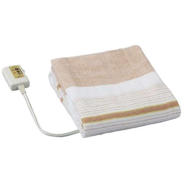 電気毛布 洗える敷き毛布 省エネ 小さめサイズ 約...