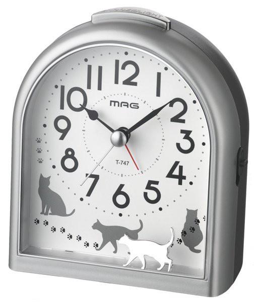 目覚まし時計 アラームクロック 電子音 アナログ ...