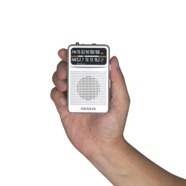 小型ラジオ ポケットラジオ 携帯用 ミニ aiwa AM/...