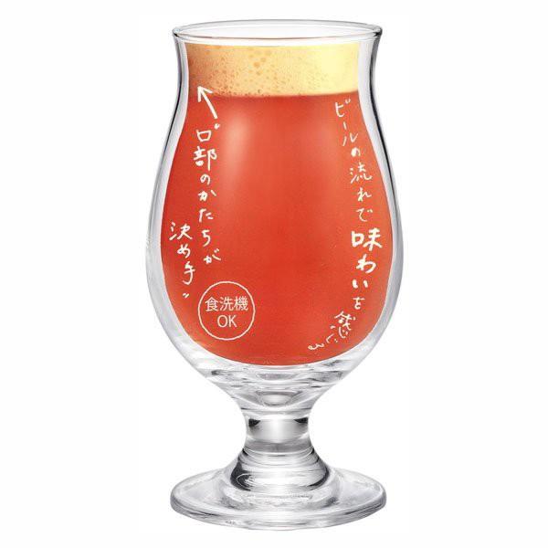 ビアグラス ビールグラス ビールの流れで味わいを...