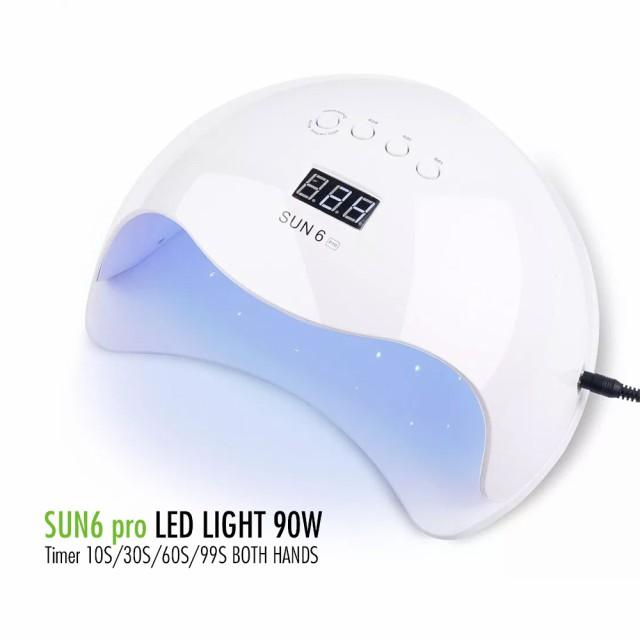 送料無料UV+LED 90w UV/LEDライト 人感センサー...