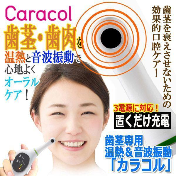 歯茎専用温熱&音波振動「カラコル」(歯肉 PTCサ...