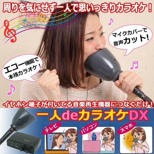 エコー&防音マイク「一人deカラオケDX」(1人カラ...