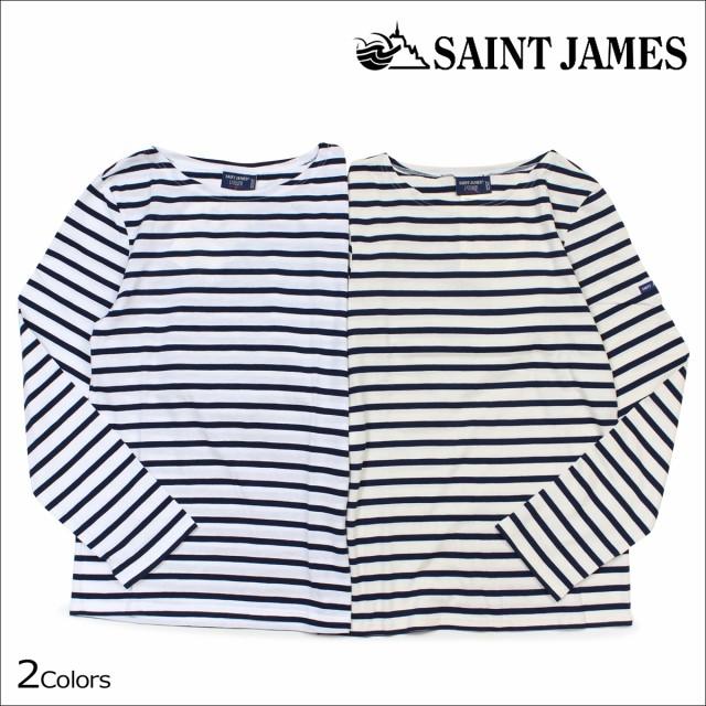セントジェームス SAINT JAMES Tシャツ 長袖 ボー...