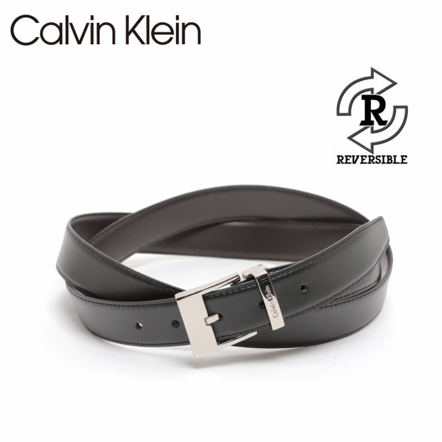カルバンクライン Calvin Klein ベルト リバーシ...