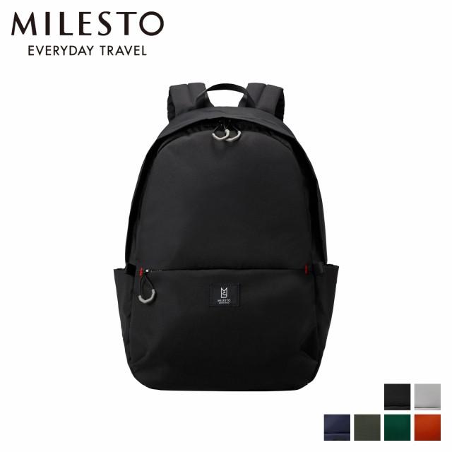 ミレスト MILESTO リュック バッグ バックパック メンズ レディース TROT BACKPACK M MLS542 予約 5月上旬 再入荷予定
