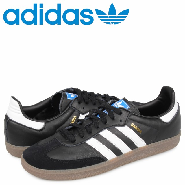 Core Black White Gum *New!* {B75807} Mens Adidas Originals Samba OG Sneaker
