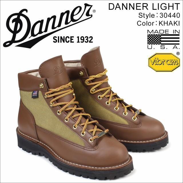 ダナー Danner ダナーライト ブーツ LIGHT 30440 MADE IN USA メンズ ブラウン