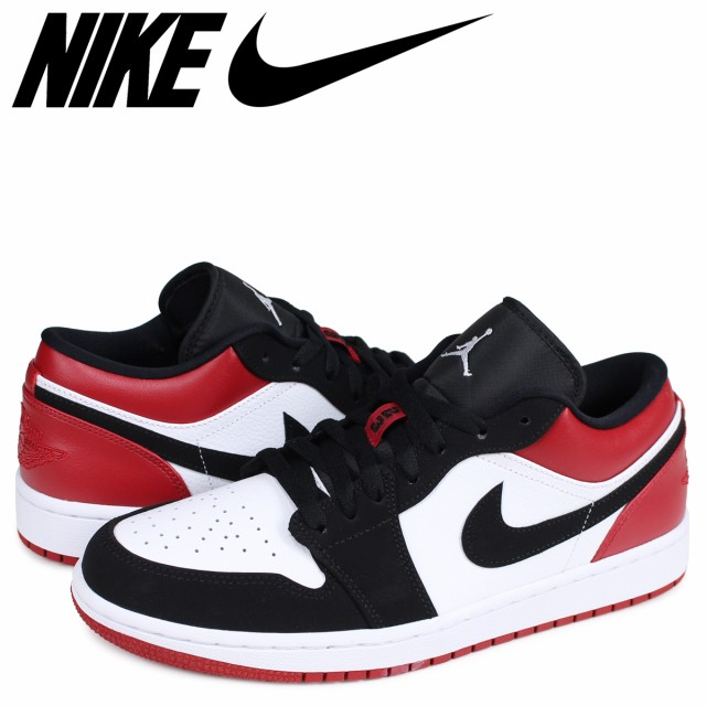NIKE AIR JORDAN 1 LOW BLACK TOE ナイキ エアジ...