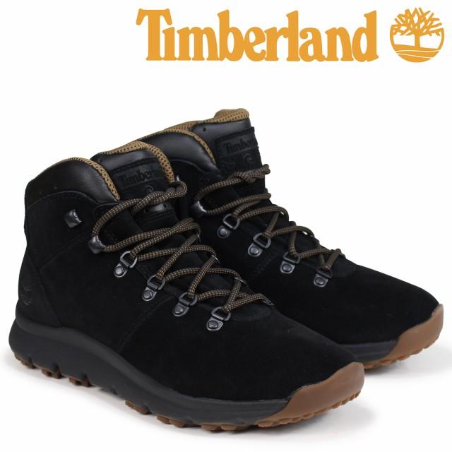 ティンバーランド ブーツ メンズ Timberland WORLD HIKER A1QFL Wワイズ ブラック