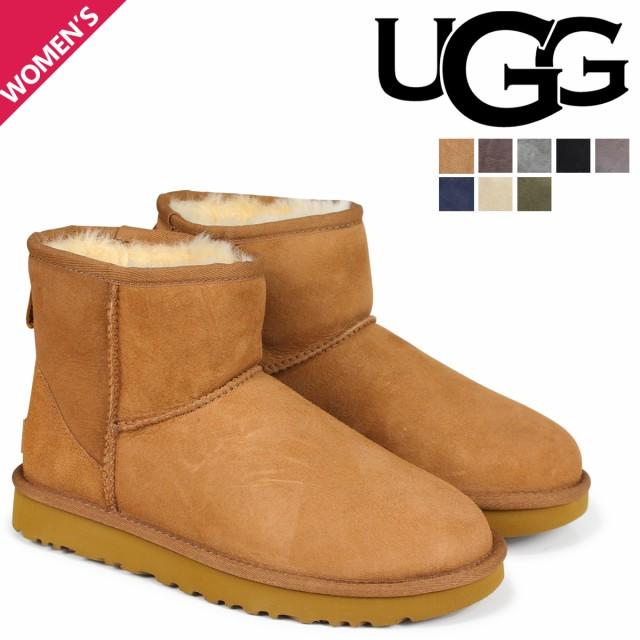 UGG アグ ムートン ブーツ クラシック ミニ 2 WOM...