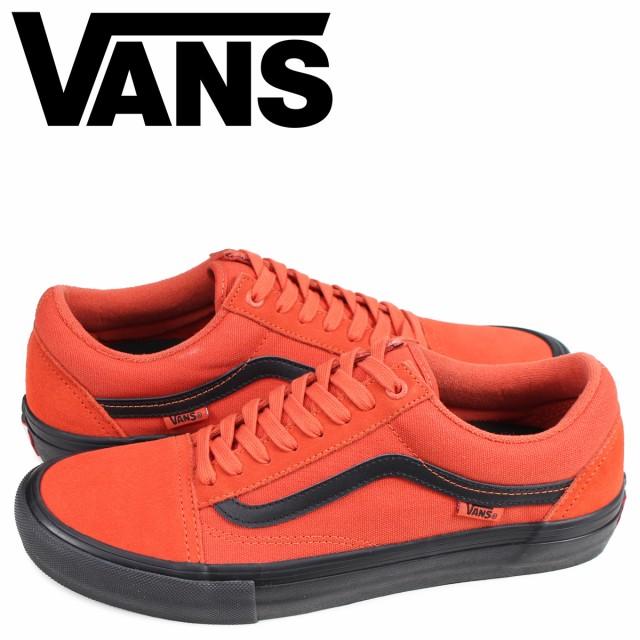 VANS バンズ オールドスクール スニーカー メンズ ヴァンズ OLD SKOOL PRO オレンジ VN0A45JCVG3 予約 5/29 新入荷