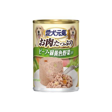 ユニ・チャーム 4520699670835 愛犬元気 缶ビーフ...
