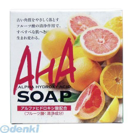 4901498125236 AHA SOAP フルーツ酸配合石けん 80...