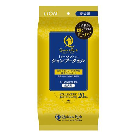 ライオン商事  4903351004474 クイック&リッチ ...