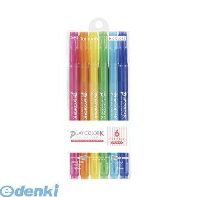トンボ鉛筆[GCF-611A] プレイカラーK【インク色...