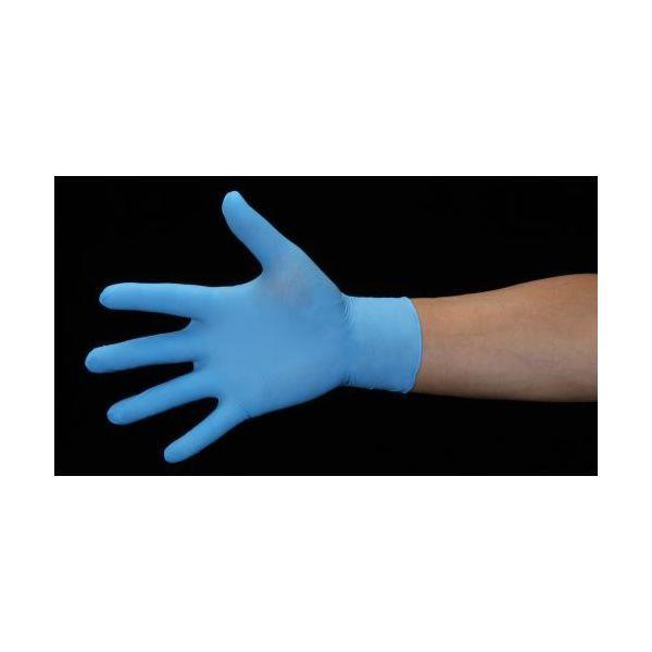 EA354BN-27 M 手袋 ニトリルゴム/ブルー/100枚 ...