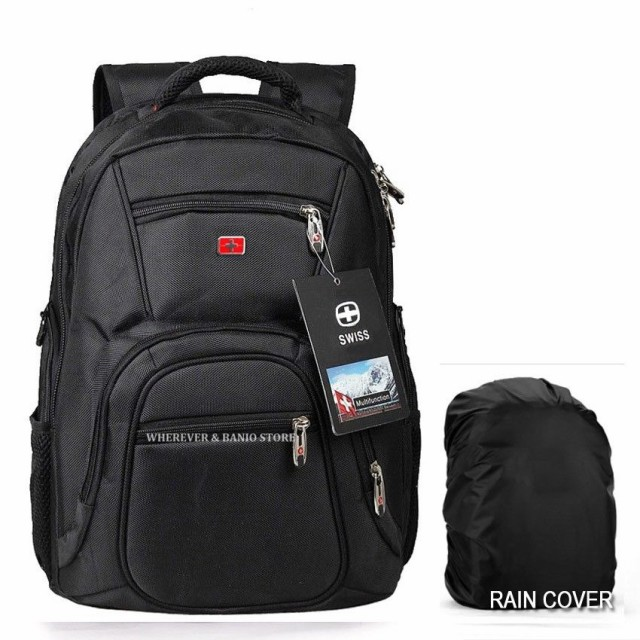 (スイスギア) SwissGear Waterproof Backpack Men...